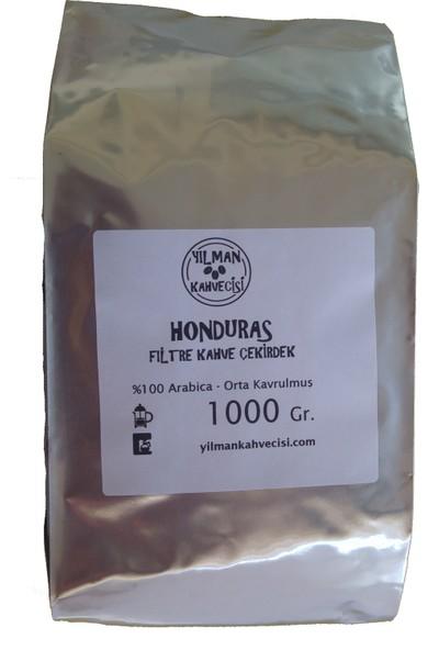Yılman Kahvecisi Honduras Arabica Filtre Kahve 1000 gr Orta Kavrulmuş Tam Çekirdek