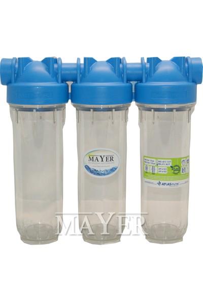 Mayer Su Arıtma Cihazı 2 Takım Filtreli Reçineli