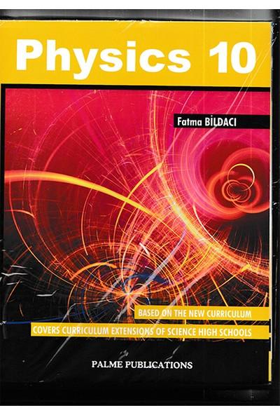 Palme Yayıncılık 10. Sınıf Physics - Fatma Bildacı