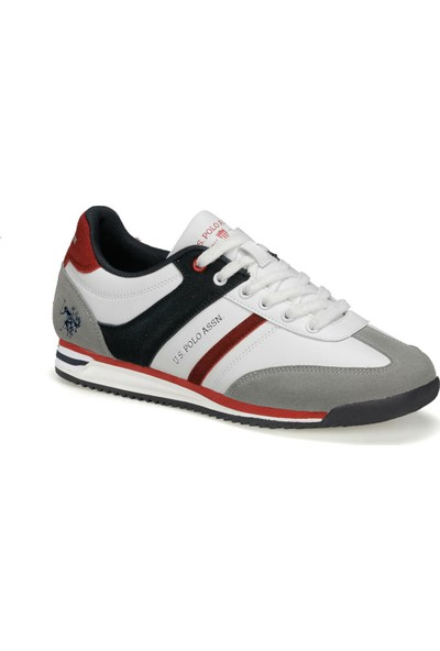 U.S. Polo Assn. Kent 9Pr Beyaz Erkek Sneaker Ayakkabı