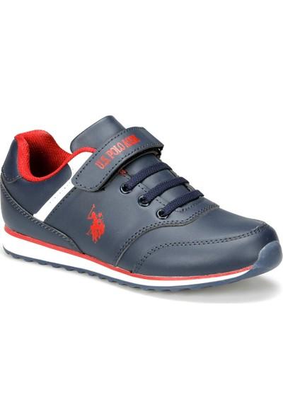 U.S. Polo Assn. Micro Wt 9Pr Lacivert Erkek Çocuk Sneaker Ayakkabı