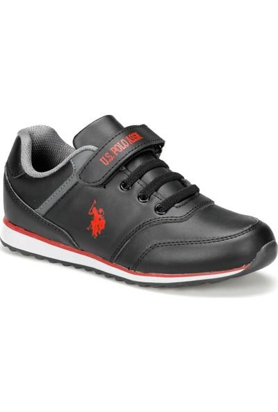 U.S. Polo Assn. Micro Wt 9Pr Siyah Erkek Çocuk Ayakkabı