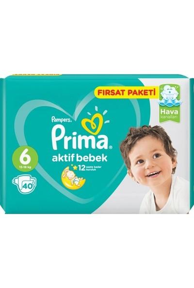 Prima Büyük Fırsat Paketi 6 Numara 80 Adet ( 40 x 2 ) 13-18 kg