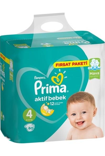 Prima Dev Fırsat Paketi 4 Numara 180 Adet ( 60 x 3 ) 9-14 kg