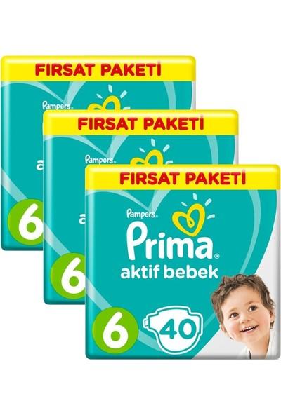Prima Dev Fırsat Paketi 6 Numara 120 Adet ( 40 x 3 ) 13-18 kg