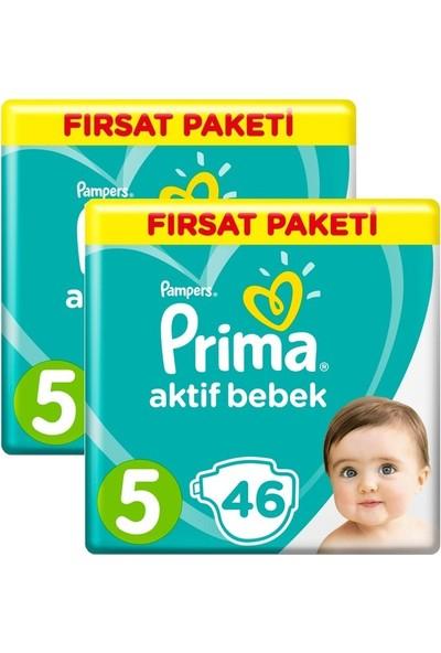 Prima Büyük Fırsat Paketi 5 Numara 92 Adet ( 46 x 2 ) 11-16 kg