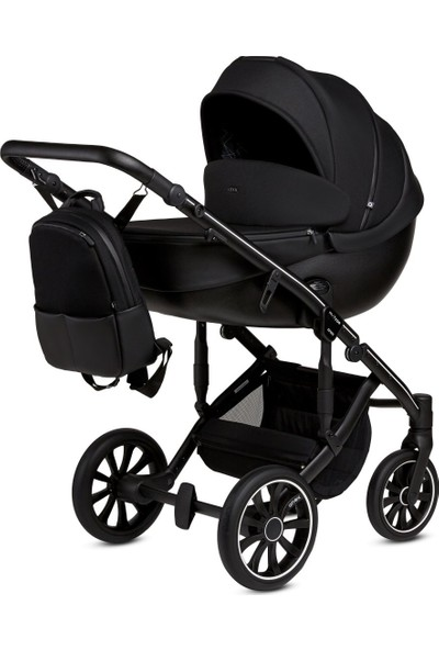 Anex® M/Type - 2'si 1 Arada Bebek Arabası Set - Siyah