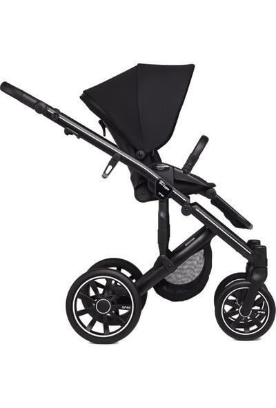 Anex® m/type - 2'si 1 Arada Bebek Arabası Seti - Siyah