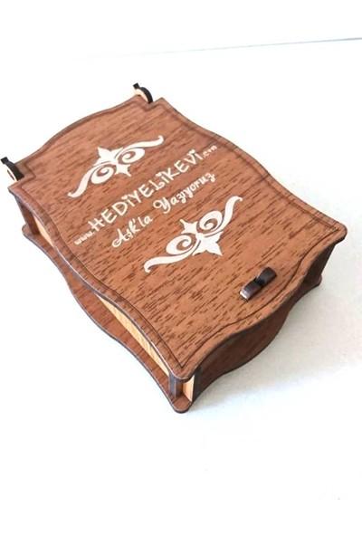 Hediyelikevi İsme Özel Göbeğimle Sev Beni Çakmak Çakmak Ahşap Kutu Hediyeli