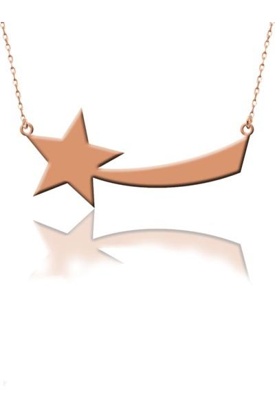 Nayino Takı 30307 Kuyruklu Yıldız Gümüş Kolye