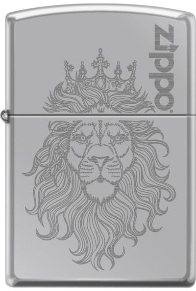 Zippo Lion Auto Engrave Design Çakmak