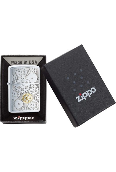 Zippo 200 Pf19 Gears Design Çakmak