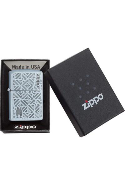 Zippo 205 Pf19 Geometric Design Çakmak