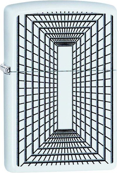 Zippo 214 Pf19 Lines Boxed Design Çakmak