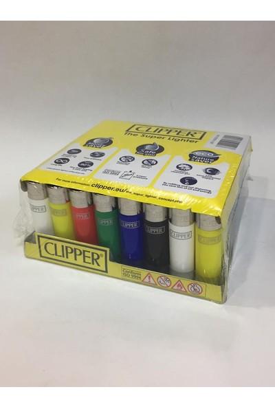Clipper 48 Adet Dolduruabilir Baskılı Çakmak