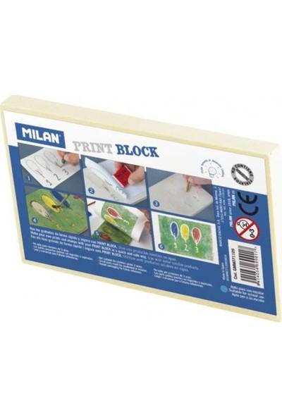 Milan Print Block Baskı İçin Kauçuk Tabaka 115x70x9 mm