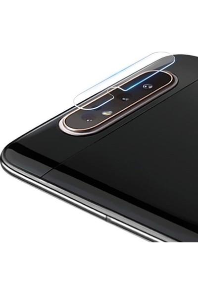 Ally Samsung Galaxy A90/A80 Yüksek Çözünürlüklü Kamera Lens Koruma Camı