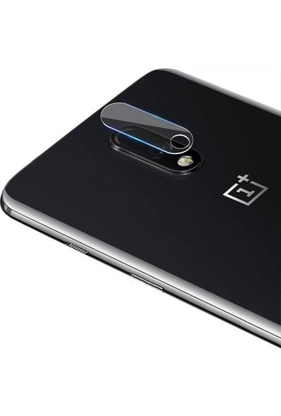 Ally OnePlus 7 Yüksek Çözünürlüklü Kamera Lens Koruma Tempered Cam