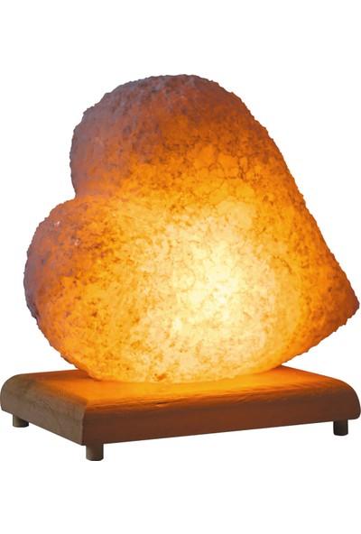 Doğaca Naturel Kaya Tuzu Tuz Lambası-Kalp
