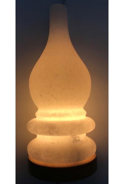Doğaca Naturel Kaya Tuzu Tuz Lambası-Gaz Lambası