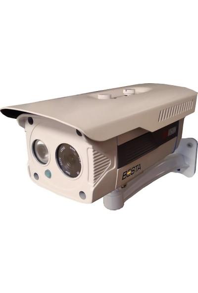 Besta 2mp 1080P Atom LED Gece Görüşlü Metal Kasa Ahd Güvenlik Kamerası (BT-2980)