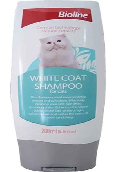 Bioline Beyaz Tüylü Kediler Için Kedi Şampuanı 200 ml