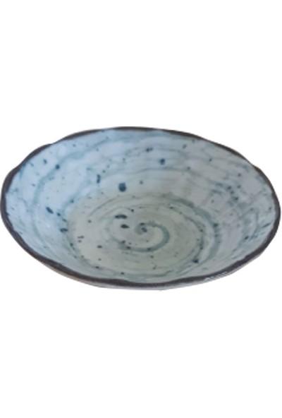 Güral Porselen Dıgıbone Acem 10 Cm. Cay Tabagı Reaktif 6'lı