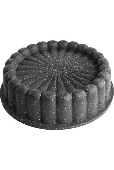 Şan Granit 22CM Döküm Kek Kalıbı Tart Kalıbı