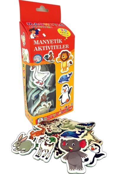 Laço Magnet Buzdolabı Hayvanlar