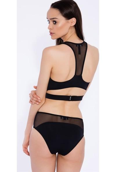 Izumi Sport Ozy Siyah Bikini Altı