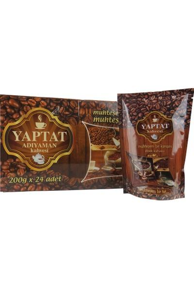 Yaptat Adıyaman Türk Kahvesi - 200gr - 24'lü -Halis Kahve