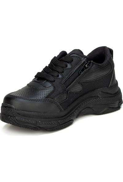 Star Günlük Çocuk Siyah Spor Ayakkabı
