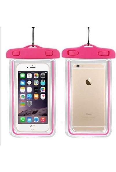 Leyaton Apple iPhone 6/6S Su Geçirmez Telefon Kılıfı Pembe
