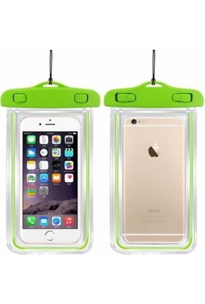 Leyaton Apple iPhone 6/6S Su Geçirmez Telefon Kılıfı Yeşil