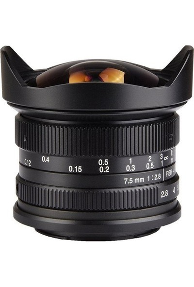 7artisans 7.5mm F2.8 APS-C Fisheye Fixed Lens (Sony E Mount)