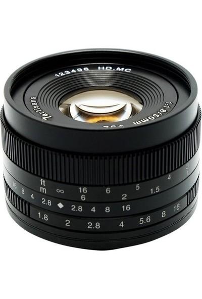 7artisans 50mm F1.8 APS-C Lens (Sony E-Mount)
