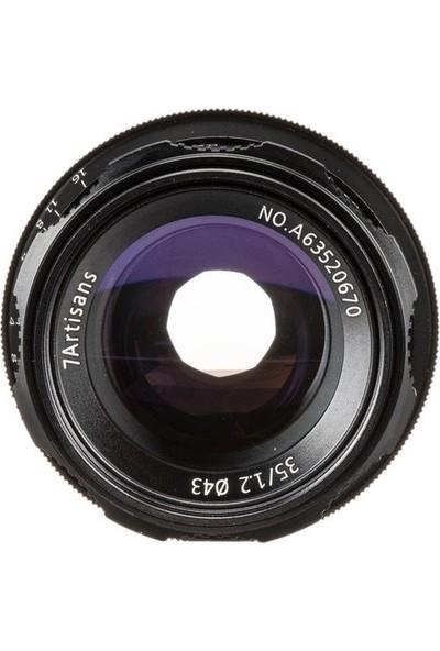 7artisans 35mm F1.2 APS-C Prime Lens (Sony E-Mount)