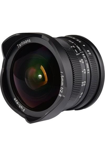 7artisans 7.5mm F2.8 Fuji Lens (FX mount)