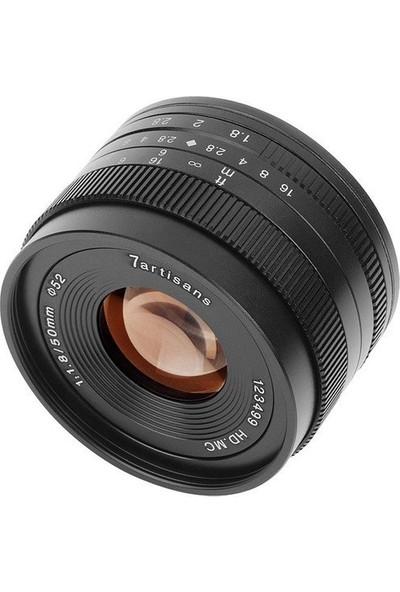 7artisans 50mm F1.8 APS-C Lens (Fuji FX-Mount)