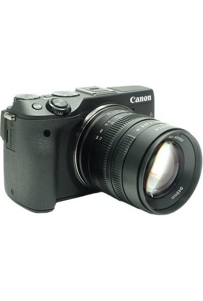7artisans 55mm F/1.4 APS-C Manual Fixed Lens (Eos-M Mount)