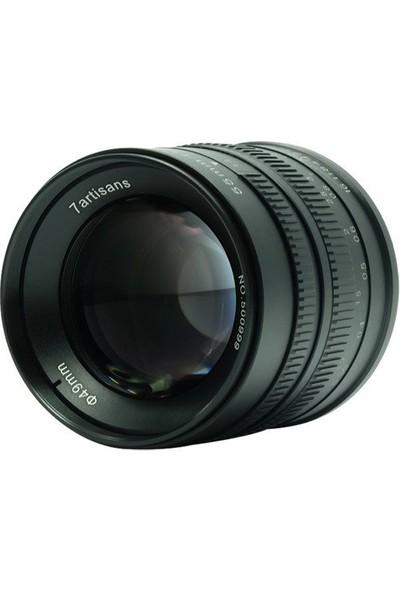 7artisans 55mm F/1.4 APS-C Manual Fixed Lens (Fuji-FX Mount)