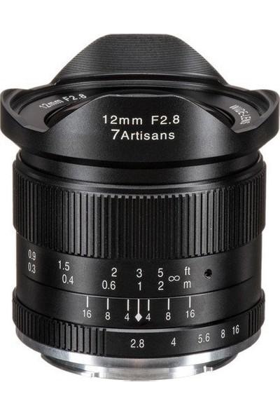 7artisans 12mm F2.8 Manual Focus Lens M43 (Panasonic Olympus Mount)