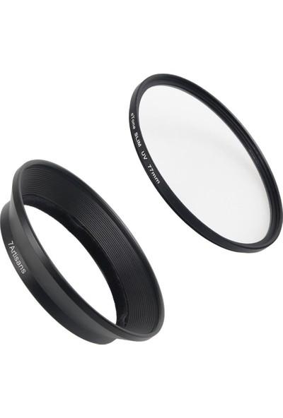 7artisans 12mm F2.8 Lens için Filtre Adaptörü 77mm