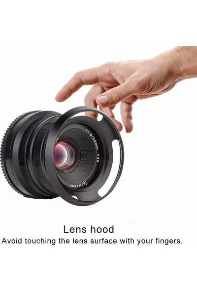 7artisans 46mm Lens Hood