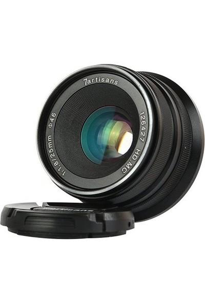 7artisans 25mm F1.8 Manual Focus Prime Fixed Lens Canon (EOS M-Mount)