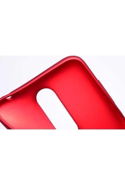 Casestore Alcatel 3V Kılıf Priming Mat TPU Silikon Arka Kapak Kılıf Kırmızı