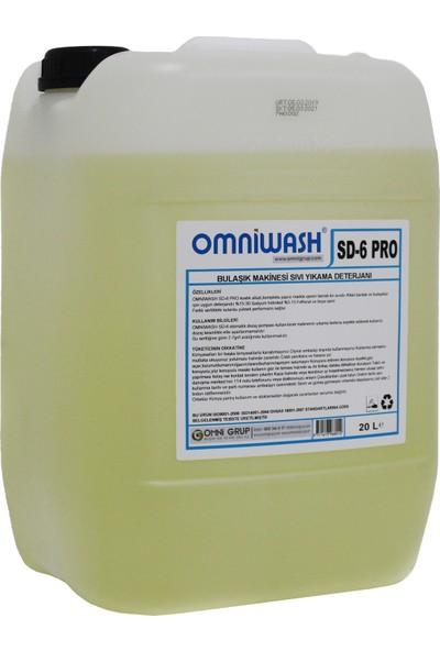 Omniwash Endüstriyel Bulaşık Makine Deterjanı 20 Kg Sd6