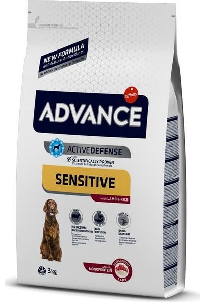 Advance Kuzu Etli Sensitive Yetişkin Köpek Maması 3 kg
