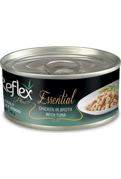 Reflex Plus Essential Tavuk Ton Balıklı Kedi Konservesi 70 g