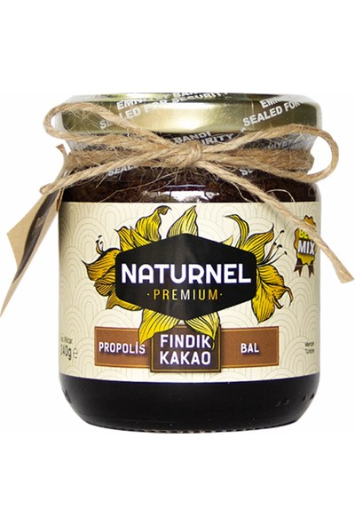 Naturnel Best Mix Fındık Kakao Ballı Çerezli Propolis Karışımı 240gr